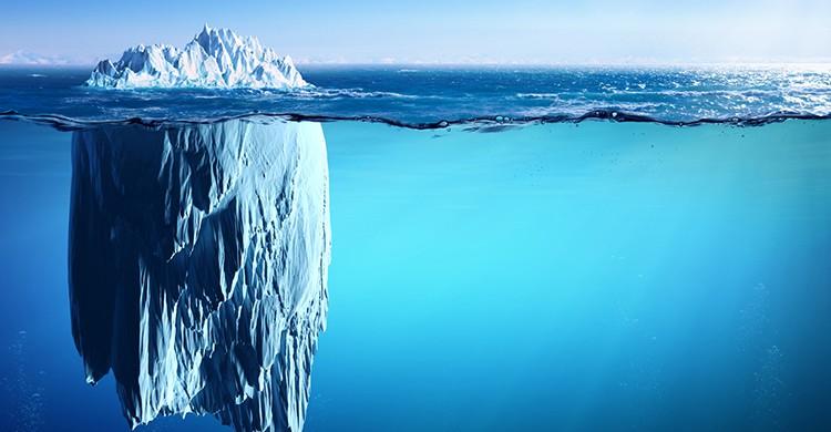 Un iceberg en el Ártico