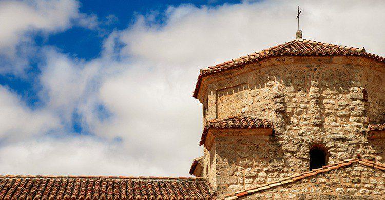Detalle de una iglesia en Urueña
