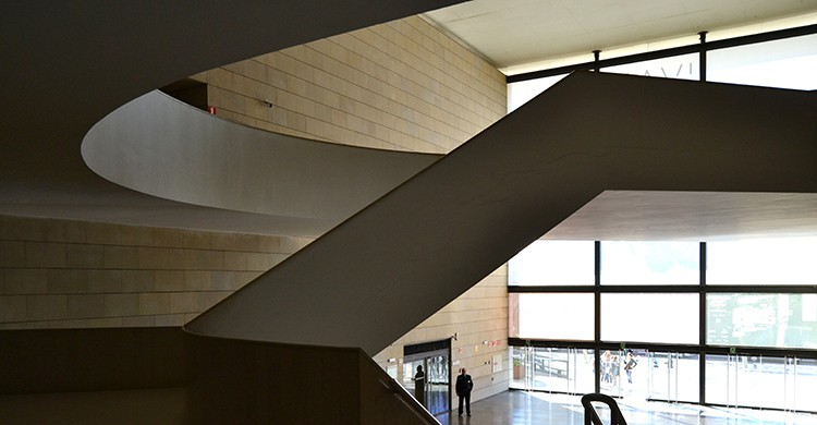 Interior del Institut Valencià d´Art Modern. Centre Julio González