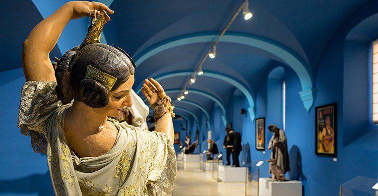 Interior del Museo Fallero
