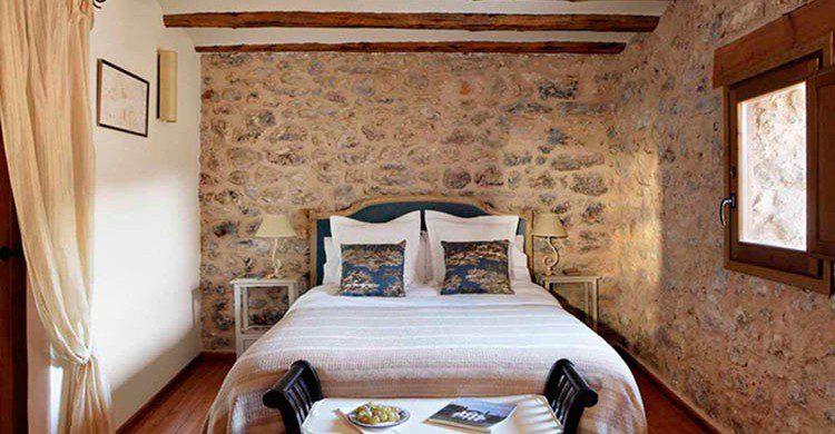 Dormitorio de una casa rural