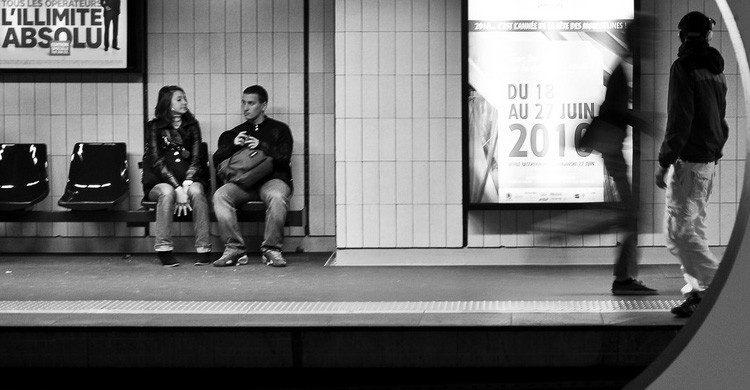 Una conversación en el metro que puede acabar siendo el amor de tu vida (Fuente: Antoine Giret / Flickr)