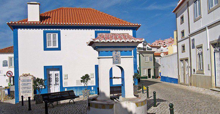 Centro de Ericeira, Portugal