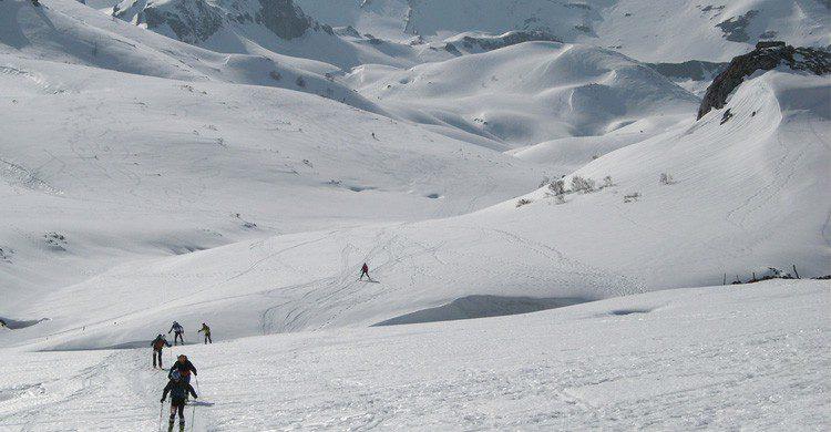 Estación de esquí de Fuentes de Invierno en Asturias (Fuente: Eduardo/ Flickr)