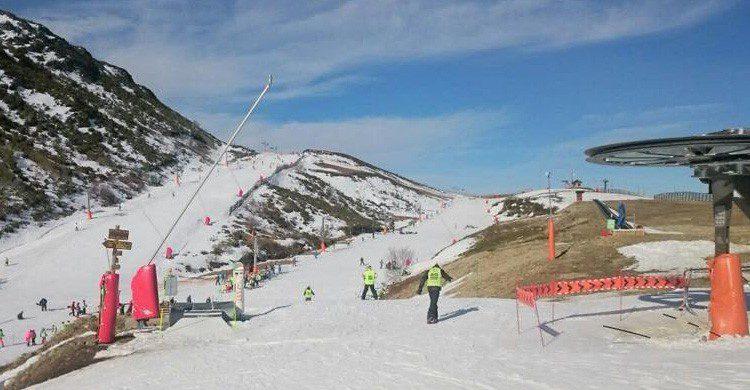 Estación de esquí de Leitariegos en la provincia de León (Fuente: Facebook Leitariegos)