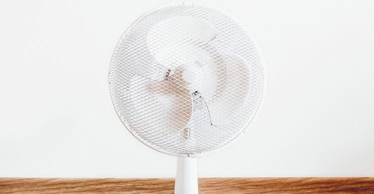 Ventilador blanco