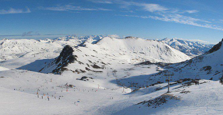 Estación de esquí de San Isidro en la provincia de León (Fuente: Frado76 / Flickr)
