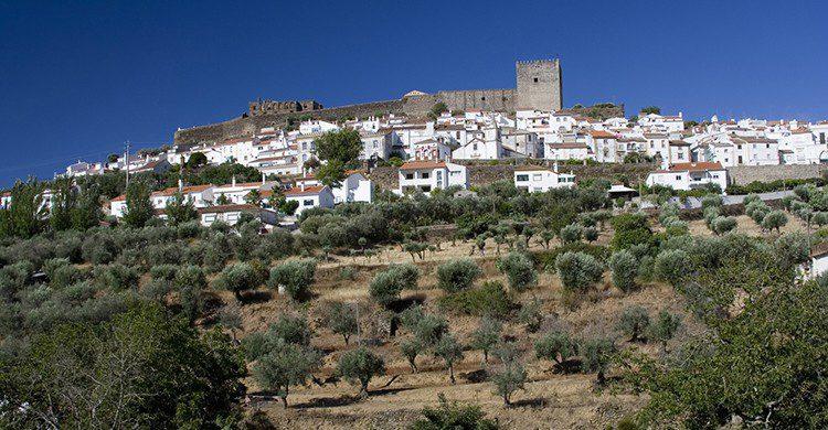 Vistas de Castelo de Vide, Portugal