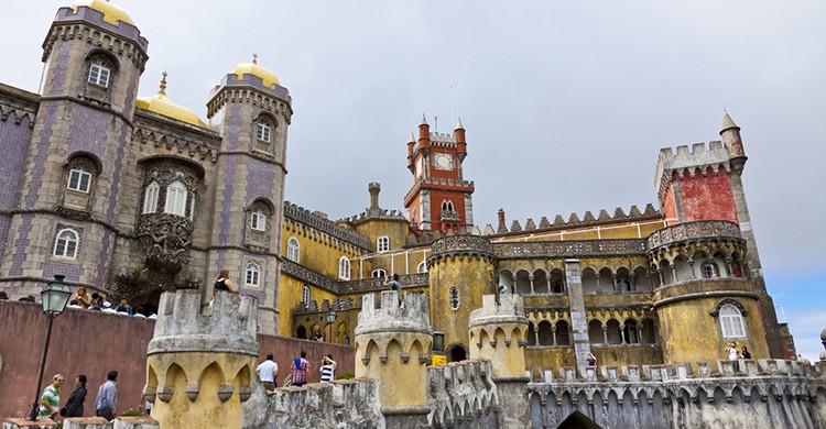El castillo de Sintra