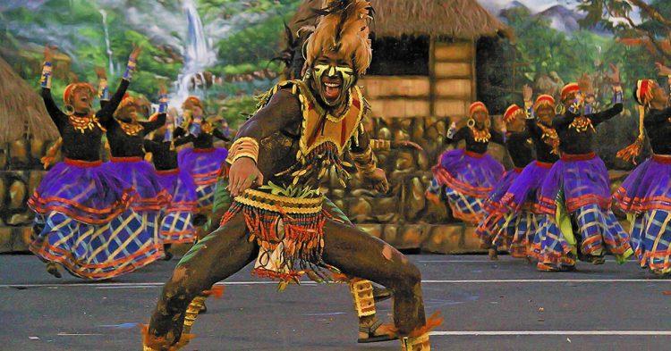 Festival en Filipinas.