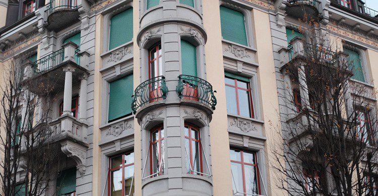 Las espectaculares ventanas de Lucerna, Suiza (Fuente: Christopher Macsurak / Flickr)