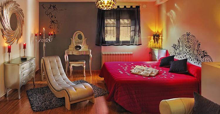 Una suite del Chinchón Spa