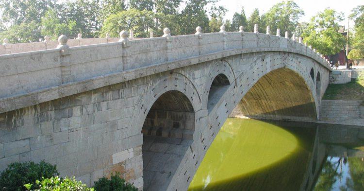 El Puente Anji en China
