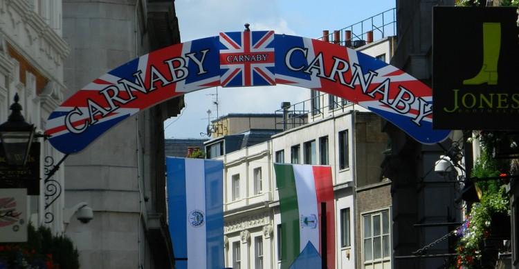 Entrada a la Carnaby Street