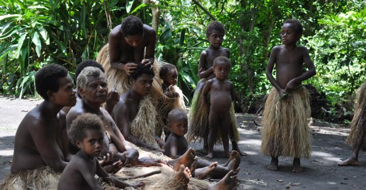 Una tribu en la Isla Tanna