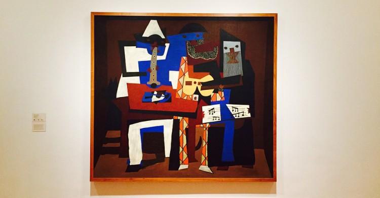 Un cuadro de Picasso