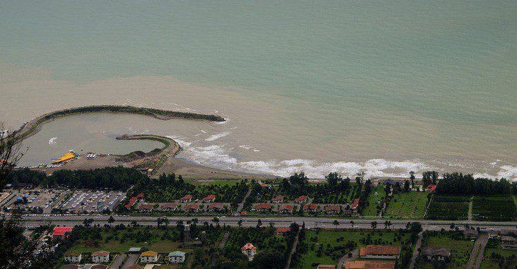 La costa iraní de Ramsar (Fuente: Aldin Gharibnavaz / Flickr)