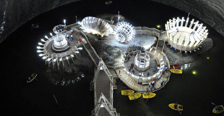 parque de atracciones subterraneo