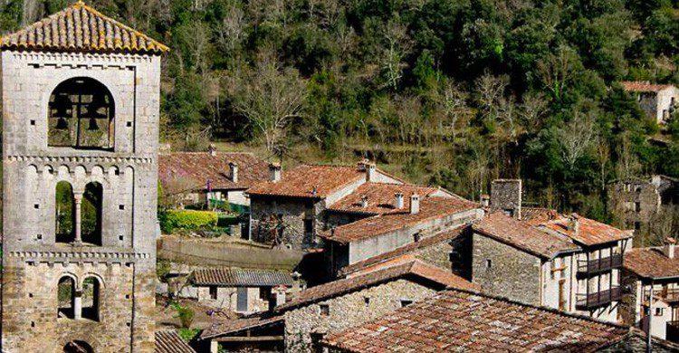 Vistas de Beget, en Girona (Fuente: wikimedia.org)