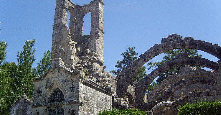 Vistas de Ruinas de Santa Mariña en Cambados, Galicia (Fuente: Septem Trionis / Flickr)