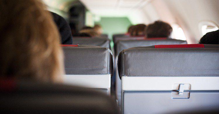 personalidad según donde te sientas en el avión