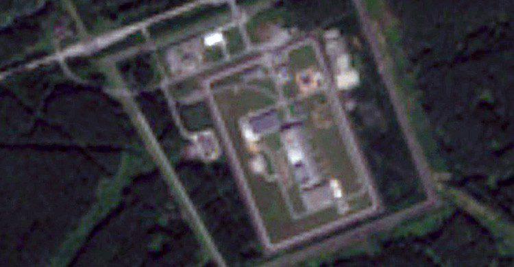 Una vista satélite de Mayak en Rusia (Fuente: Pierre Markuse / Flickr)