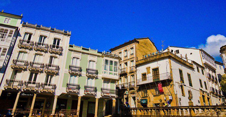 Vistas de los ventanales de Mondoñedo en Galicia, (Fuente. Guillén Pérez / Flickr)