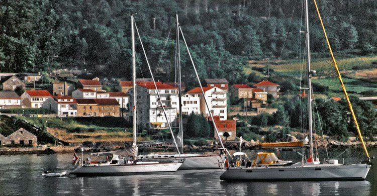 La villa marinera de Muros, en Galicia (Fuente: Jim Anzalone / Flickr)