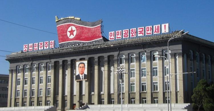 Edificio en Corea del Norte