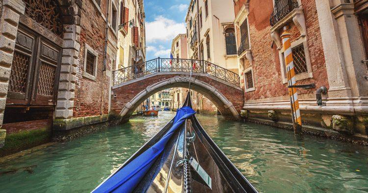 Dicen que Venecia es una ciudad para enamorados (Istock)