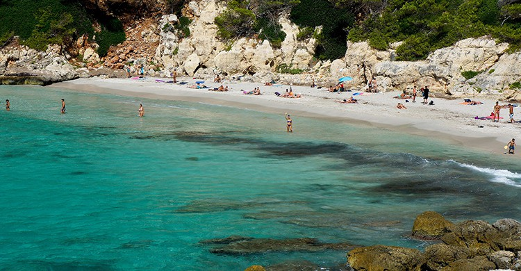 Vistas Cala Escorxada, Menorca