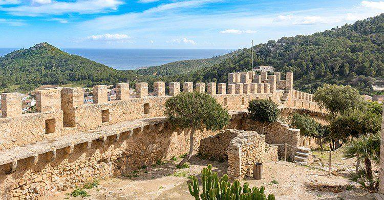 El castillo de Capdepera