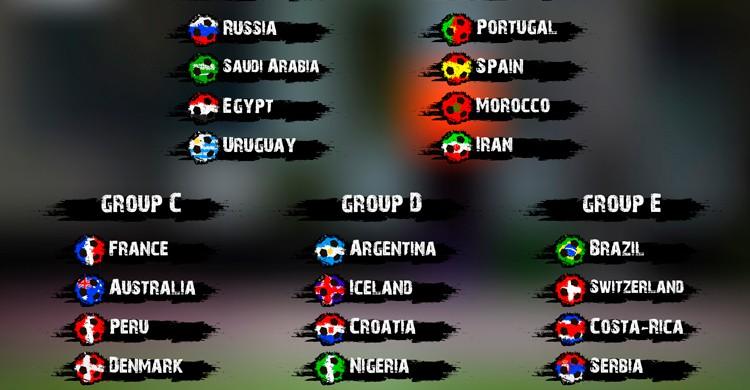 grupo españa mundial rusia