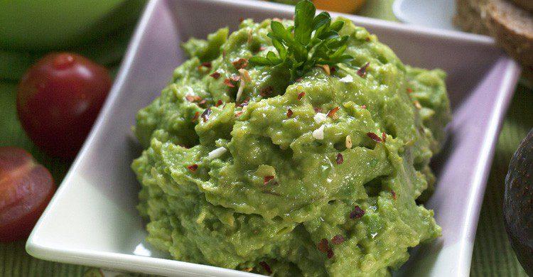 El típico guacamole mexcino (Fuente: kjkkenutstyr.net / Flickr)