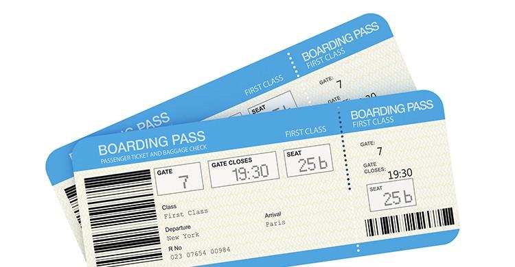 Dos billetes de avión