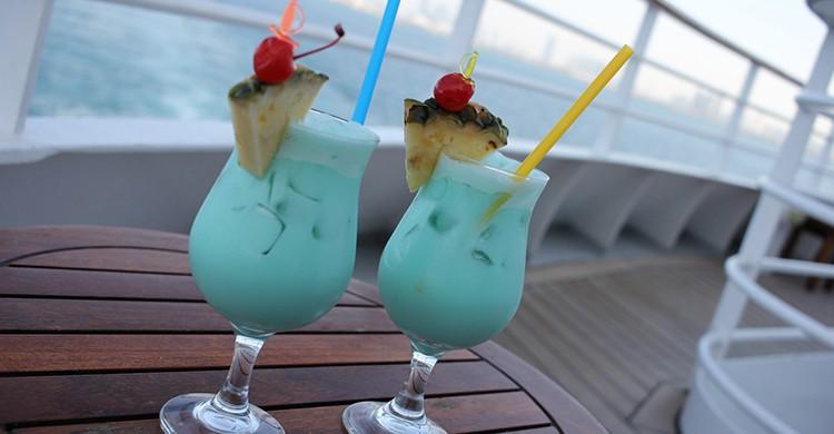 Bebidas en un crucero