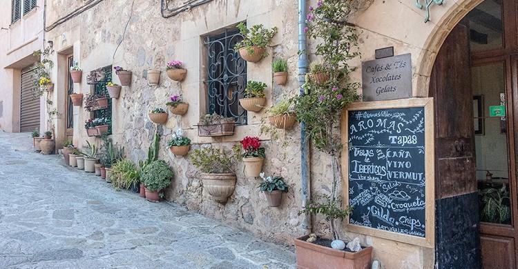Una calle de Valldemossa