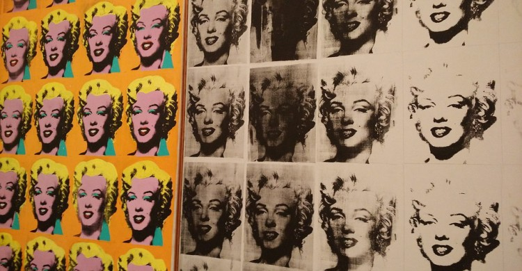 La obra Marylin Monroe de Andy Warhol