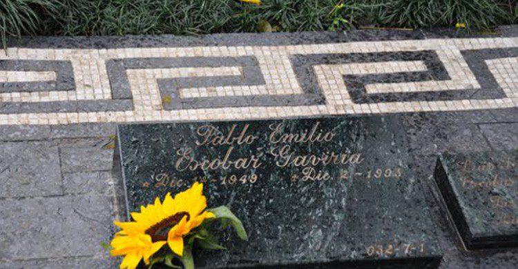 La tumba de Pablo Escobar en Montesacro (Fuente: co.geoview.com)