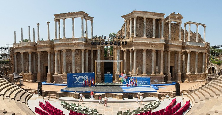 El teatro romano de Mérida