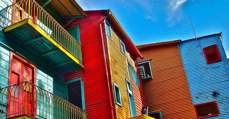 El barrio de Boca en Buenos Aires (Fuente: Marissa Strniste / Flickr)