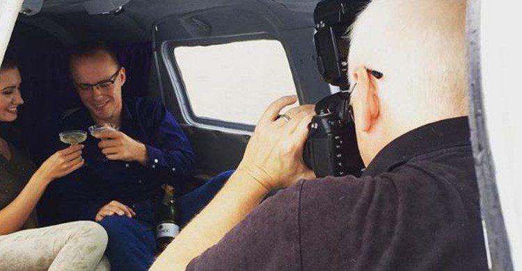 Flamingo Air es la compañía pionera en tener sexo en una avioneta (Fuente: Instagram Flamingo Air)
