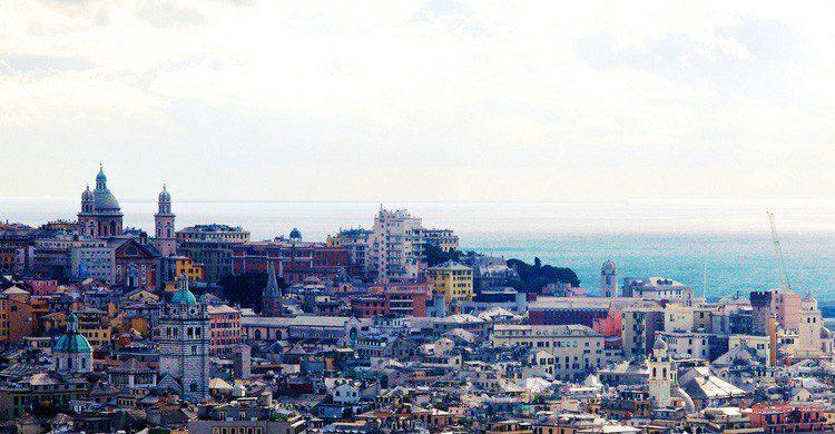 La ciudad italiana de Génova (Fuente: Luca Volpi / Flickr)
