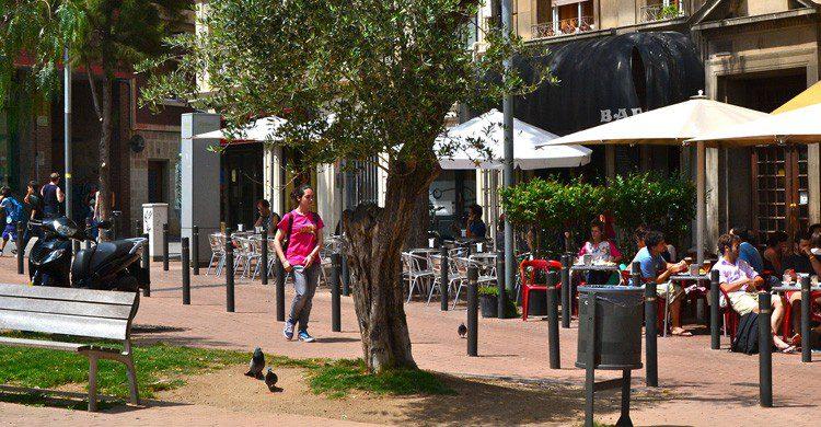Un paseo por Horta/Guinardó en Barcelona (Fuente: Oh Barcelona / Flickr)