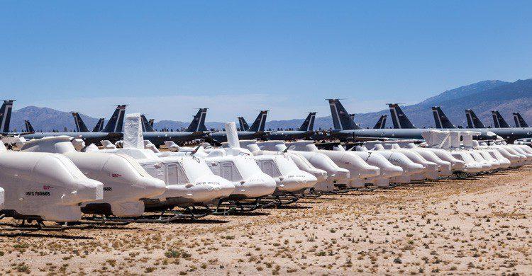 qué les pasa a los aviones cuando ya no se usan