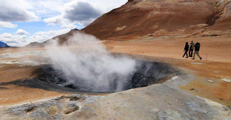El famoso Géiser de Islandia (Fuente: Stig Nygaard / Flickr)