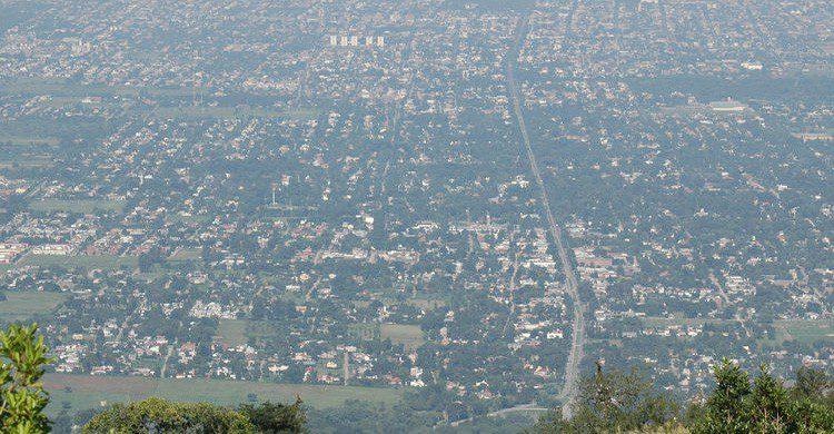 Vista aérea de Tucamán en Argentina (Fuente: Carlos Olivares / Flickr)