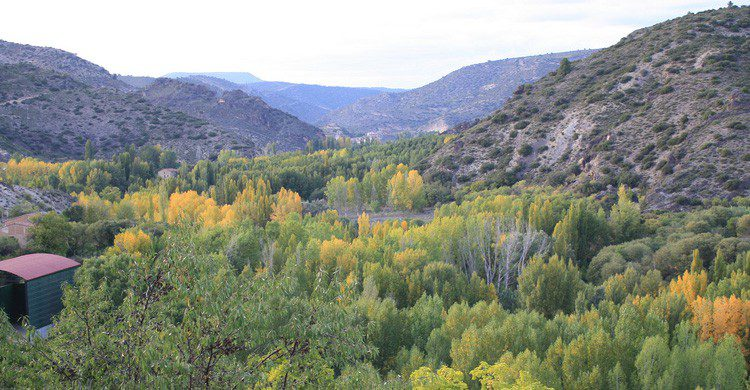 Un entorno natural único para recorrer el río Ebrón en Teruel (Fuente: Jose Castillo / Flickr)