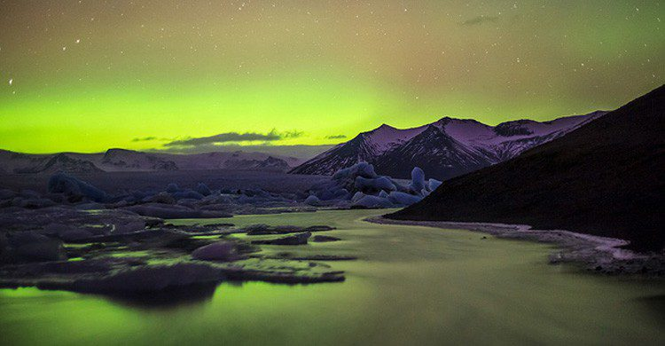 La espectacular aurora boreal de Islandia (Fuente: Andres Nieto Porras / Flickr)