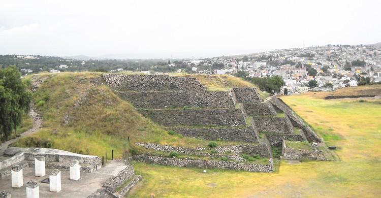Tula de Allende, una de las pirámides en México